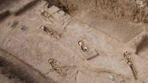 Imagen de la necrópolis de Finca Clavijo