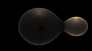 Sistema estelar KIC 9832227. La estrella más grande es un 40% mayor que el Sol- Larry Molnar, Calvin College