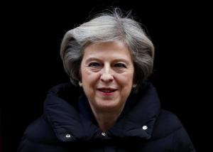 Theresa May, el pasado 11 de enero en Downing Street