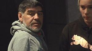 Diego Armando Maradona, en Madrid.