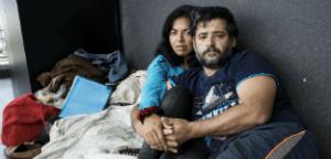 David de la Puente y su pareja Patricia López