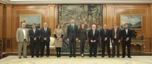 La junta directiva de la Comisión Islámica Española se reunió con los Reyes en la Zarzuela.